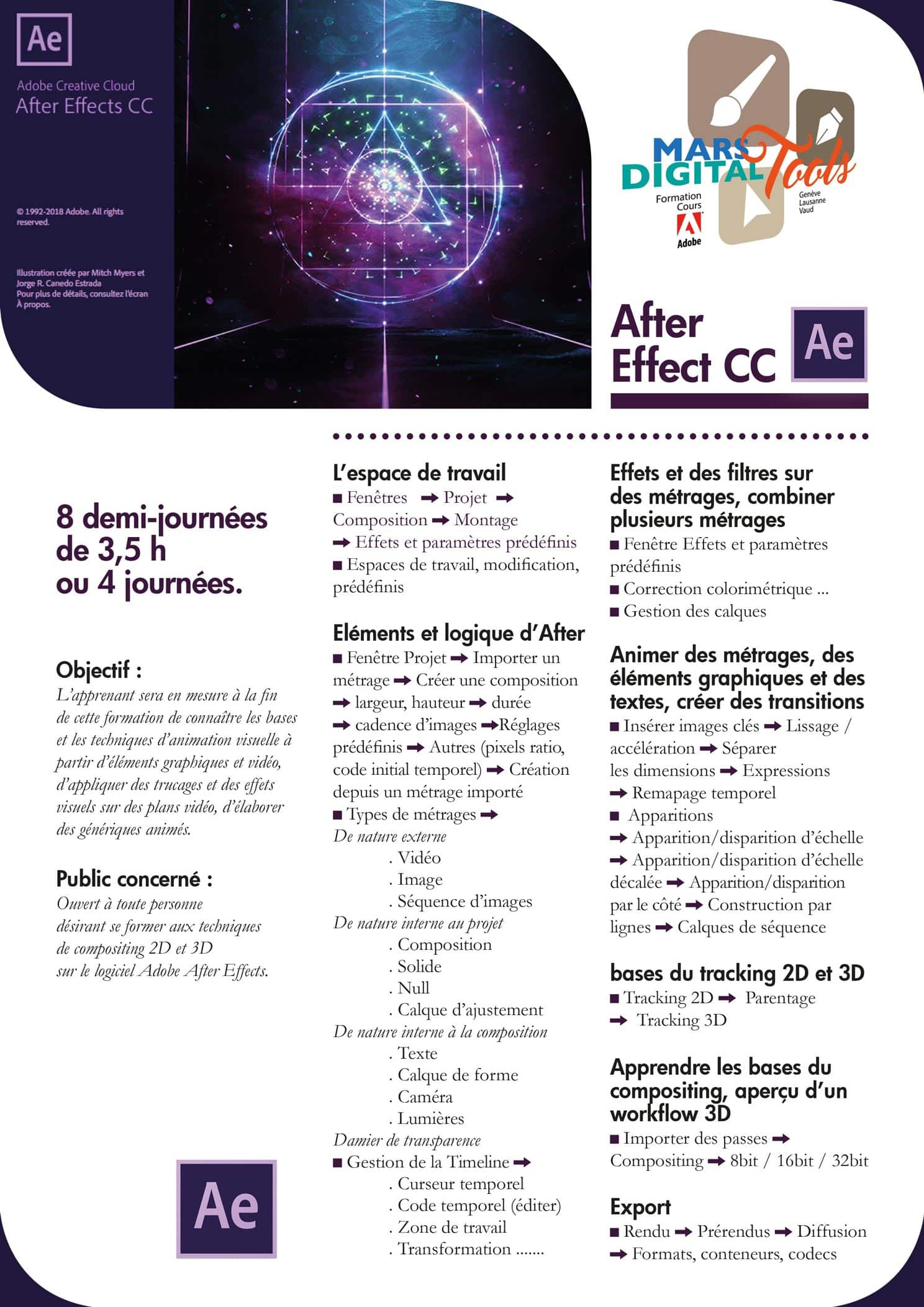 Cours after effect